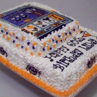 Halloween Slot Machine Birthday Cake