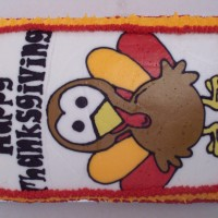 Cute Turkey Cake