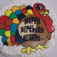 Traditional Turkey Cake