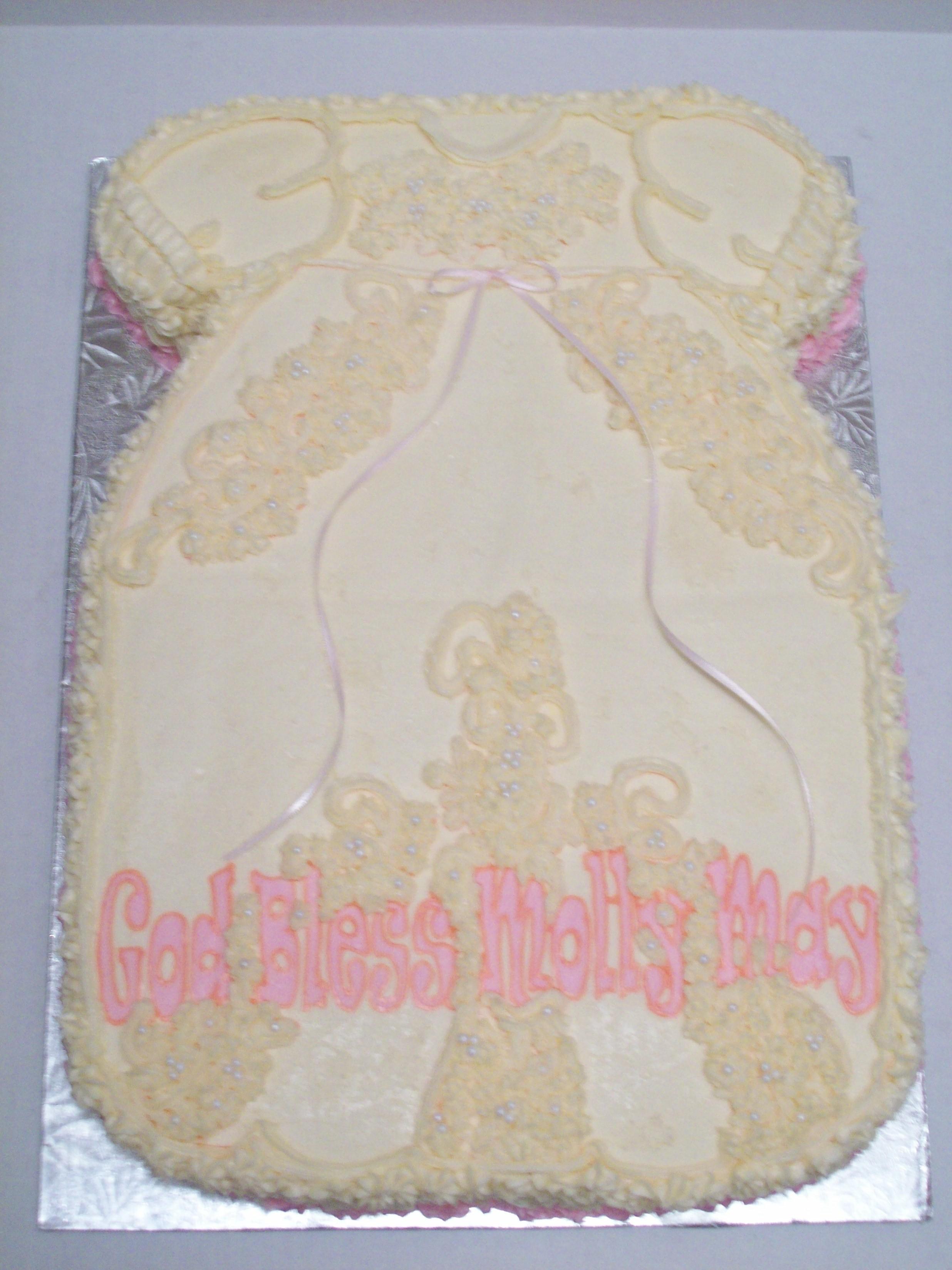 Baptism Cake for little girl!!