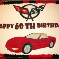 C4 Corvette Cake