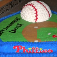 Phillies Outta Here Cake