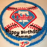 Phillies Round Cake
