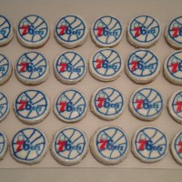Sixers Cupcakes