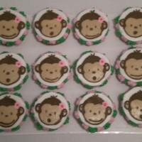 Girlie Mnkey cupcakes