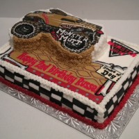 Monster Mutt -- monster truck cake