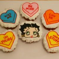 Betty Boop amd hearts