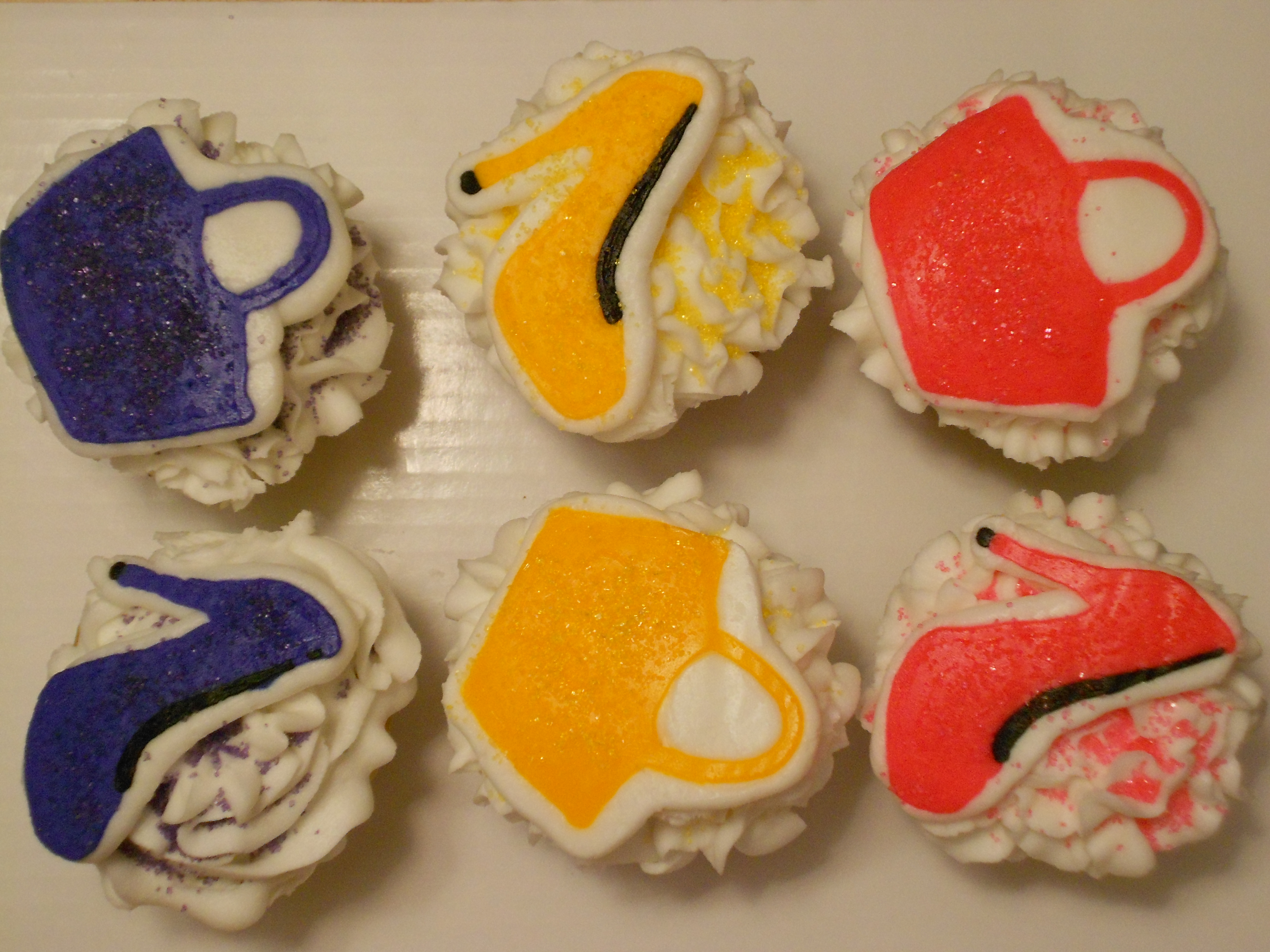 High Heel and matching purse cupcakes