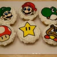 Mario Luigi Yoshi Star