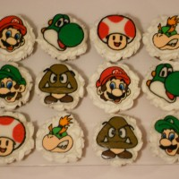 Mario Brothers and friends