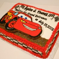 Cars Baby Shower Cake