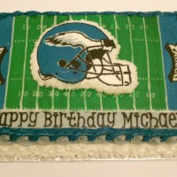 Eagles Field Cake