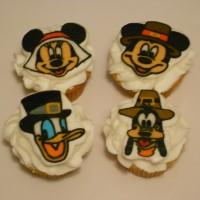 Thanksgiving Mickey,Minnie, Goofy, Donald