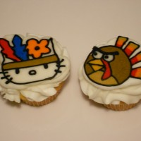 Thanksgiving hello Kitty and Angry Bird