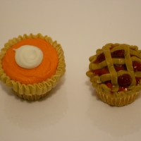 Apple and Pumpkin pie cupcakes