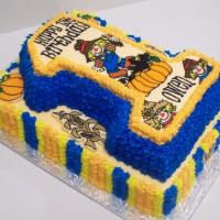 3D Scarecrow 1st birthday