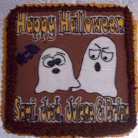 Funny Ghost Cakes..happy halloween!!