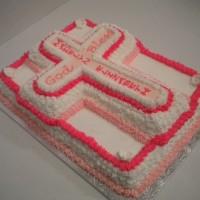 Girl religious Cake