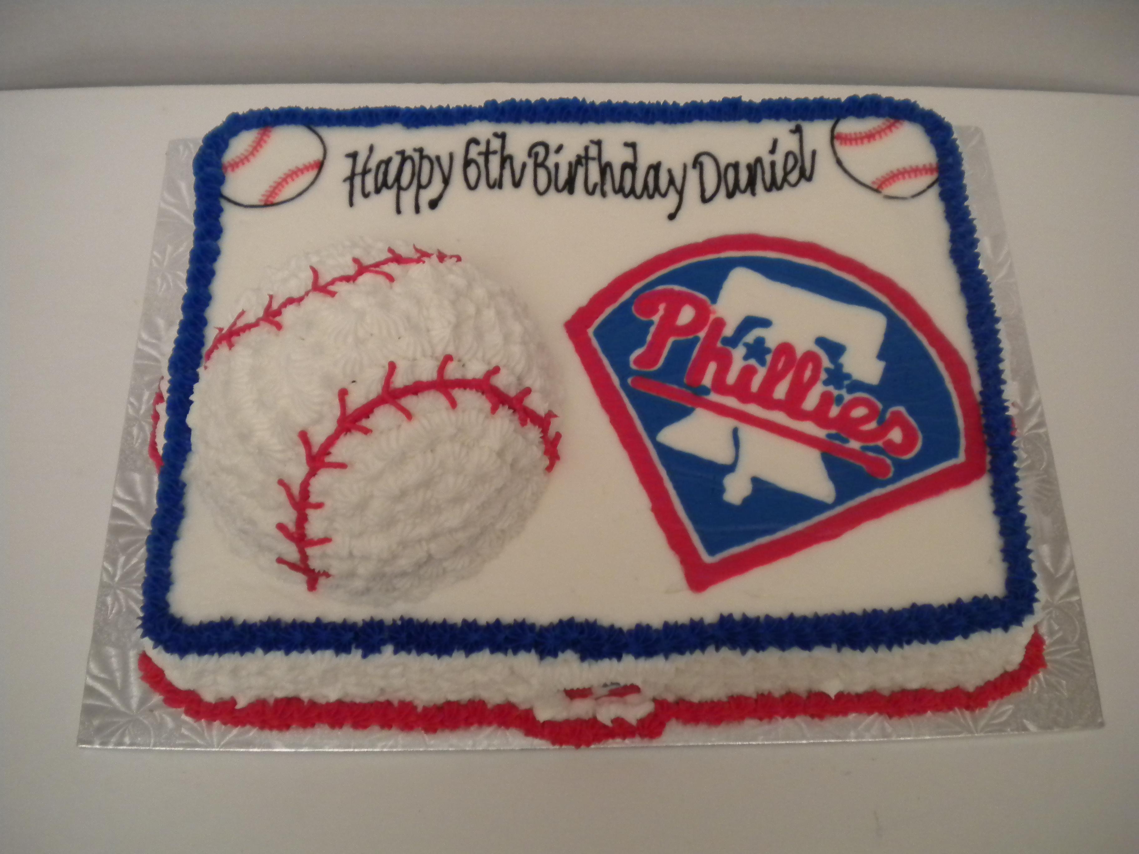 how to make a 3d baseball cake