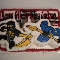 3-D Ninja Cake