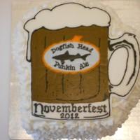 Dogfish Punkin Ale Beer Mug