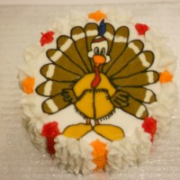 Thankgiving Turkey Cake